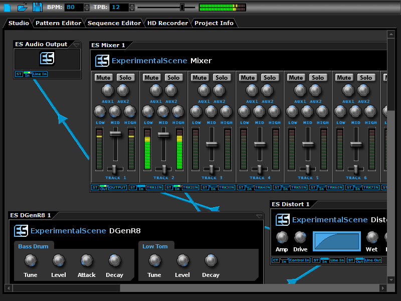 DarkWave Studio Screen shot