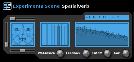 SpatialVerb VST Screen shot